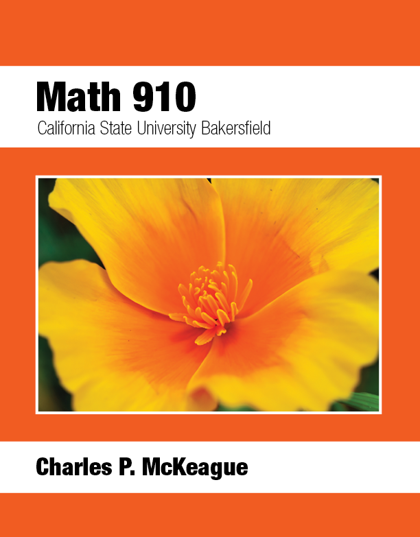 picture of CSU Bakersfield Math 910