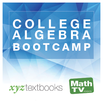 picture of Bootcamp for College Algebra