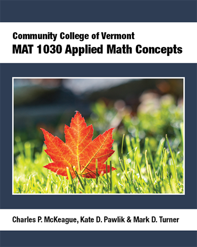 picture of MAT 1030 CC of Vermont