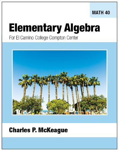 picture of Compton Math 40: Elementary Algebra