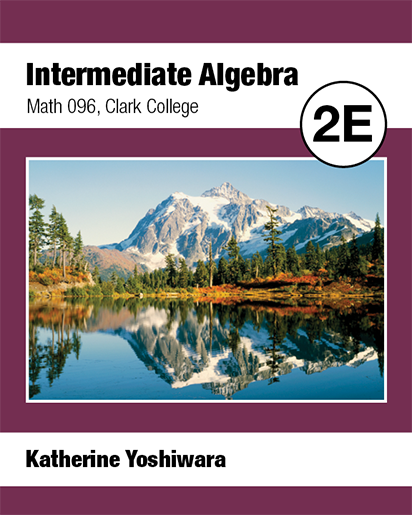 picture of Intermediate Algebra Math 096 Clark College 2E