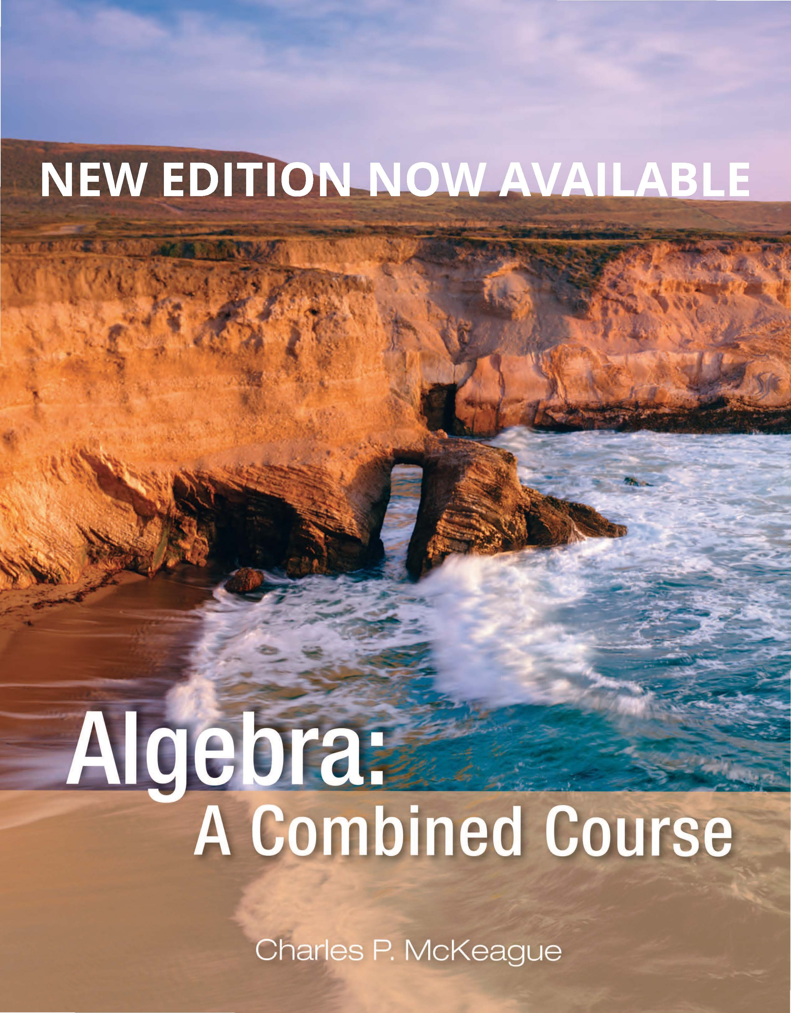 picture of Algebra: A Combined Course: Concepts with Applications