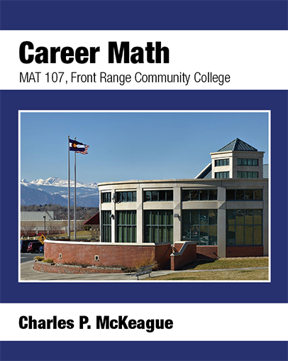 picture of MAT 107 Career Math for Front Range Community College