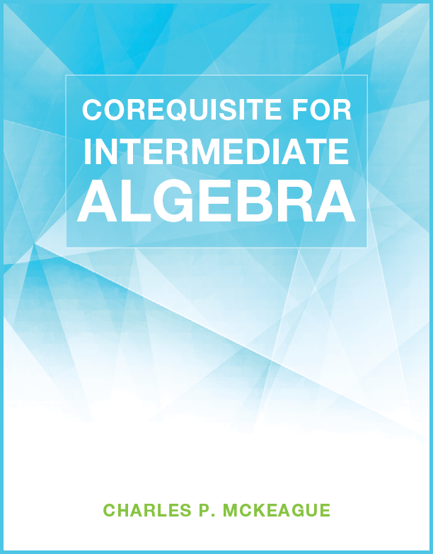 picture of Corequisite for Intermediate Algebra