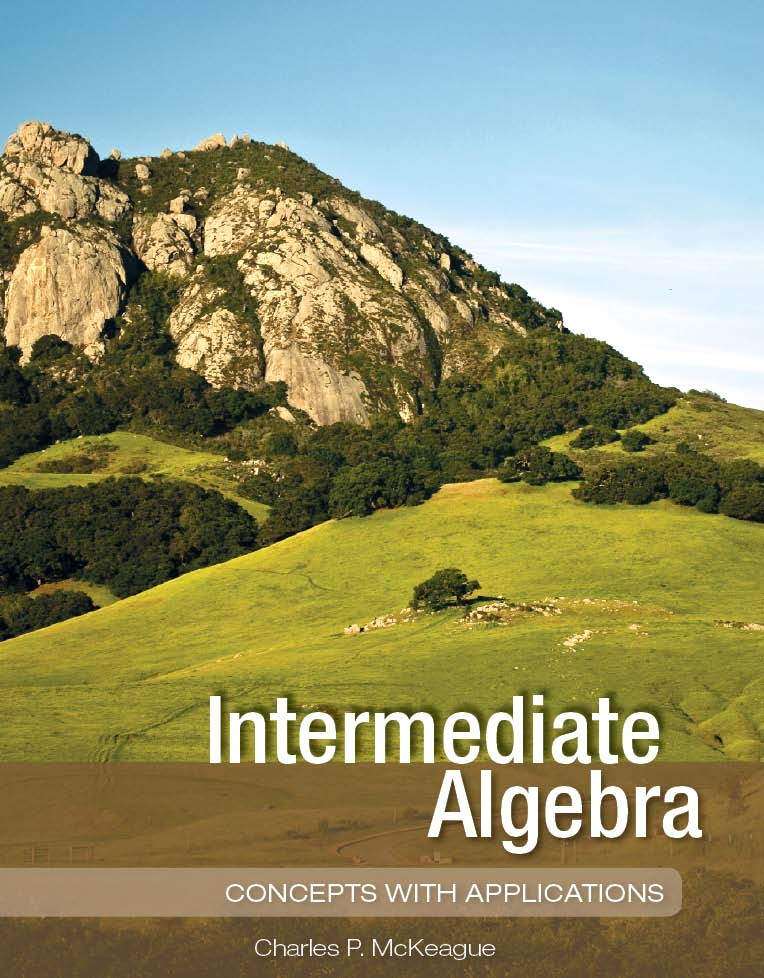 Intermediate Algebra: Concepts with Applications (Loose Leaf)