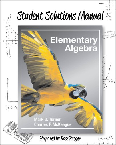 picture of Student Solutions Manual for Elementary Algebra
