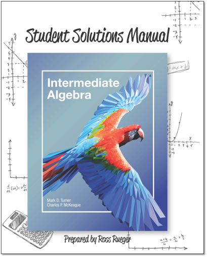 picture of Student Solutions Manual for Intermediate Algebra