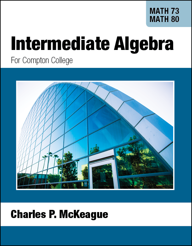 picture of Compton Math 73/80: Intermediate Algebra