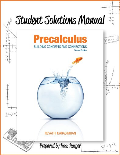 picture of Student Solutions Manual for Precalculus