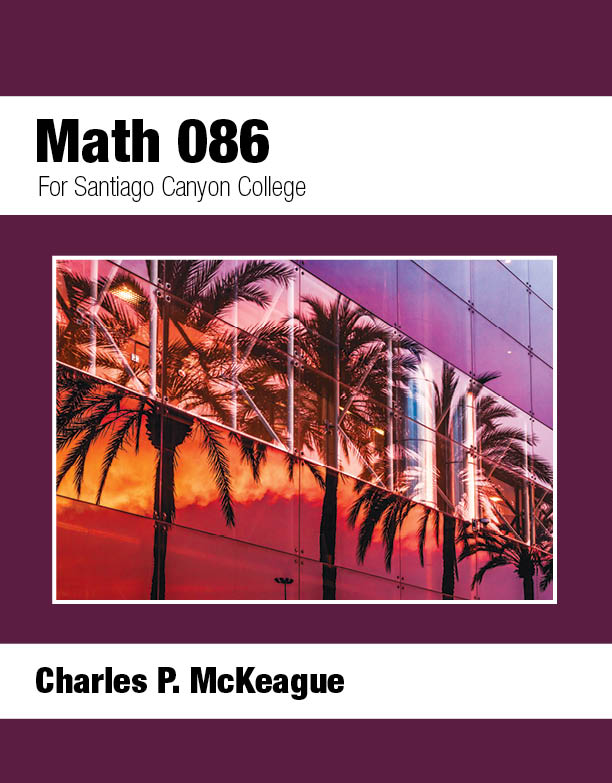 picture of Santiago Canyon College Math 086