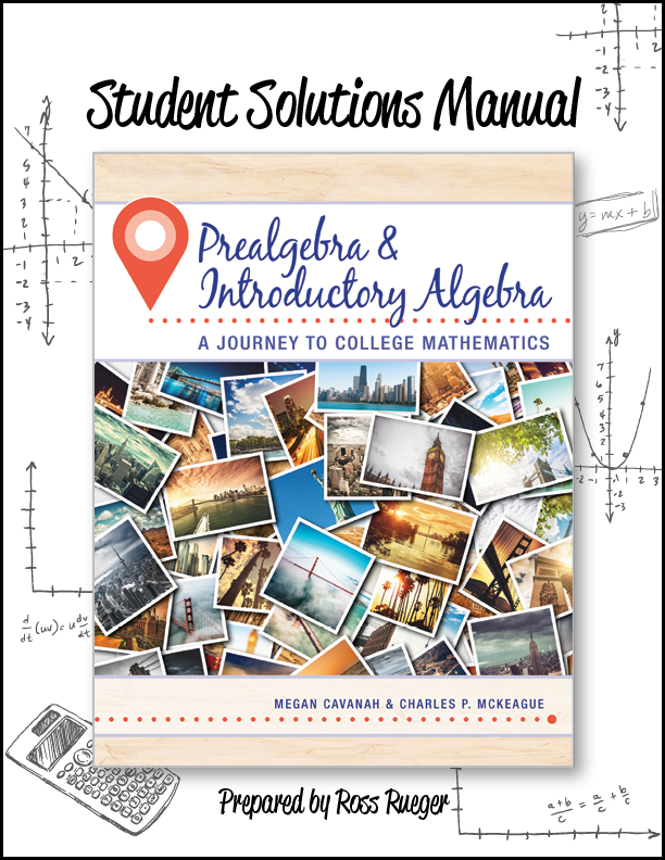 picture of Student Solutions Manual Prealgebra & Introductory Algebra