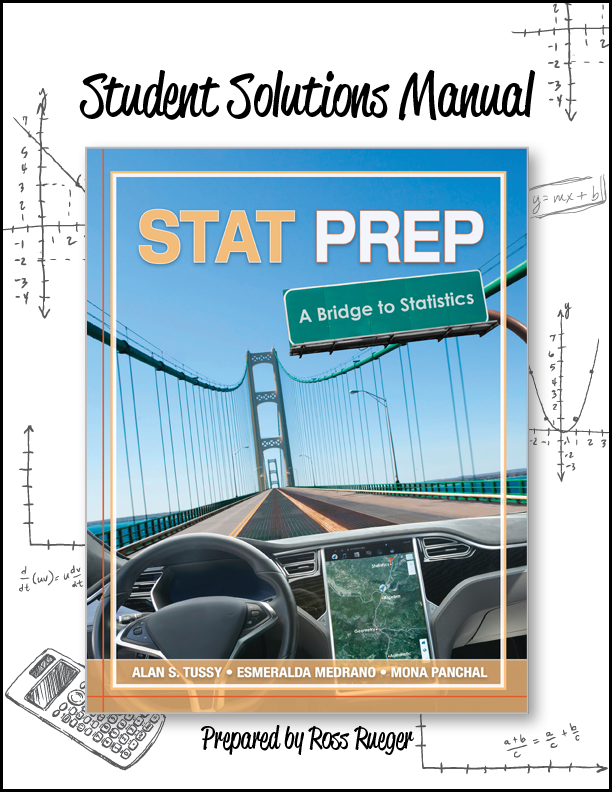 Student Solutions Manual Stat Prep: A Bridge to Statistics