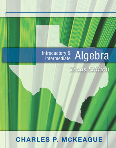 picture of Texas Edition Introductory and Intermediate Algebra