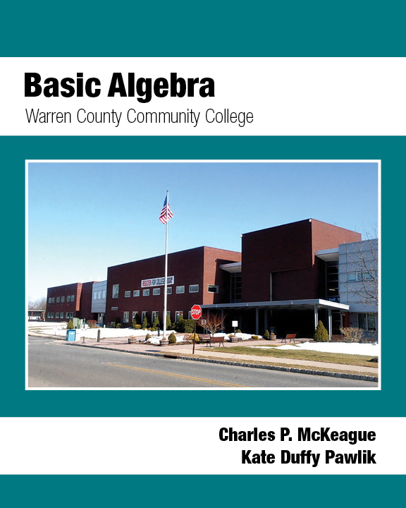 picture of Basic Algebra: Warren County Community College