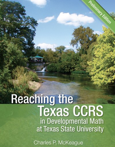 picture of Reaching the Texas CCRS in Developmental Math at Texas State University