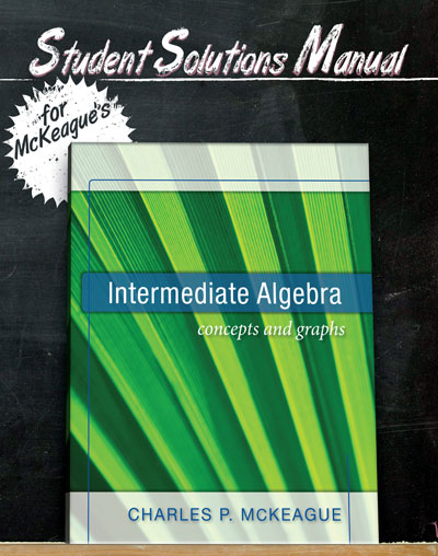 picture of Student Solutions Manual for McKeague's Intermediate Algebra