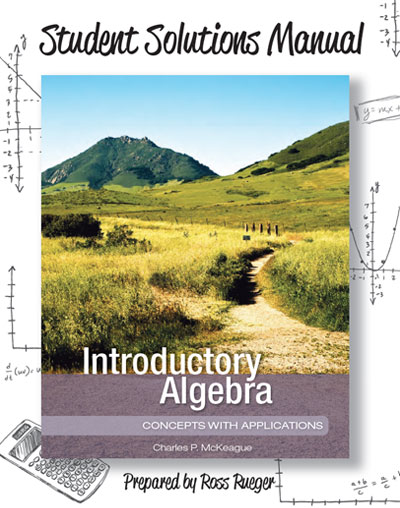 picture of Student Solutions Manual for Introductory Algebra: <small>Concepts with Applications: </small>