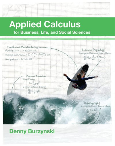 picture of Applied Calculus for Business, Life and Social Sciences