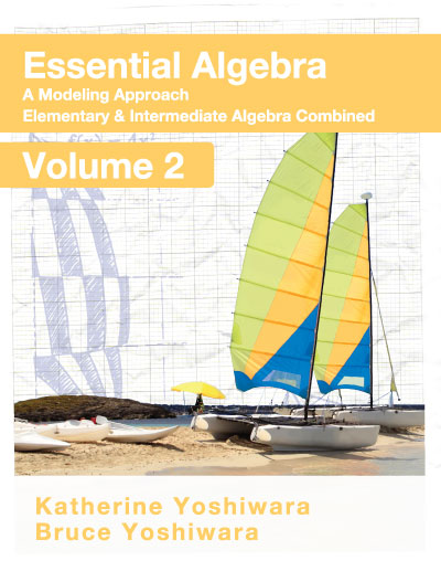 picture of Essential Algebra:<small> A Modeling Approach - Volume 2</small>