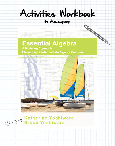 picture of Yoshiwara Activities Workbook to Accompany Essential Algebra
