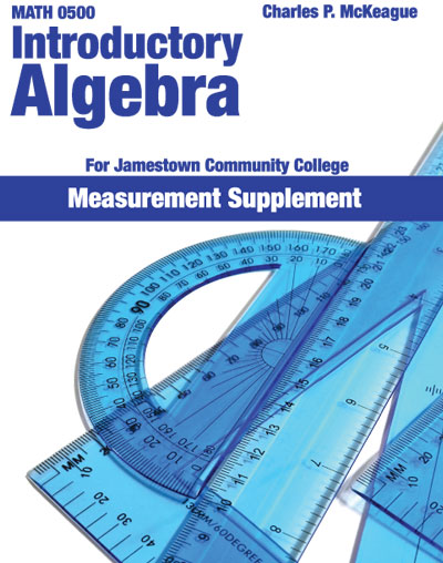 picture of Math 0500 Introductory Algebra for Jamestown Community College - Measurement Supplement