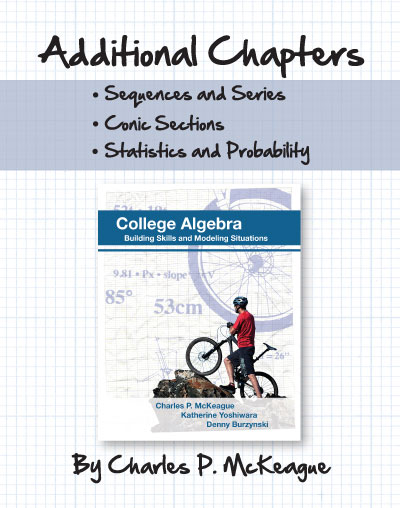 College Algebra Additional Chapters