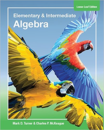 picture of Elementary and Intermediate Algebra  Loose Leaf
