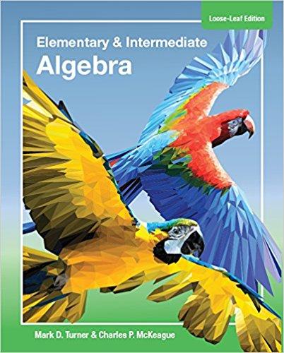 picture of Elementary and Intermediate Algebra  Loose Leaf