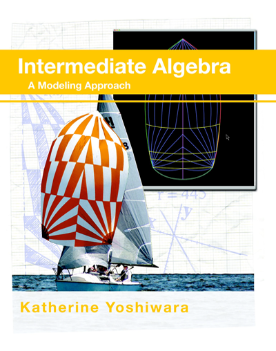 picture of Intermediate Algebra: A Modeling Approach (QR code edition)