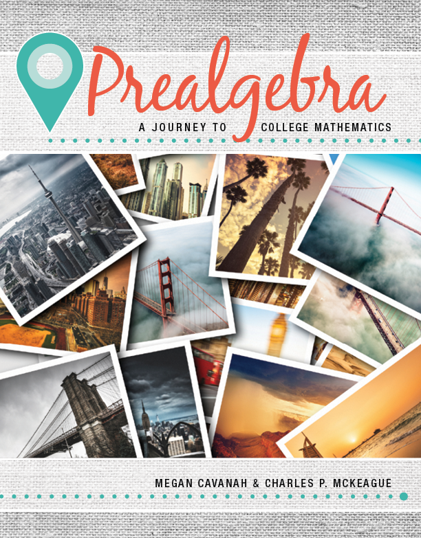 cover of Prealgebra (MPA Cavanah/McKeague)