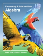 cover of Elementary and Intermediate Algebra
