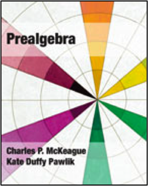 cover of Prealgebra